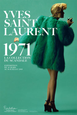 """306597ad122 On January 29, 1971, Yves Saint Laurent presented his """"Forties"""" collection  inspired by the fashion of this decade. The collection, which was heavily  ..."""