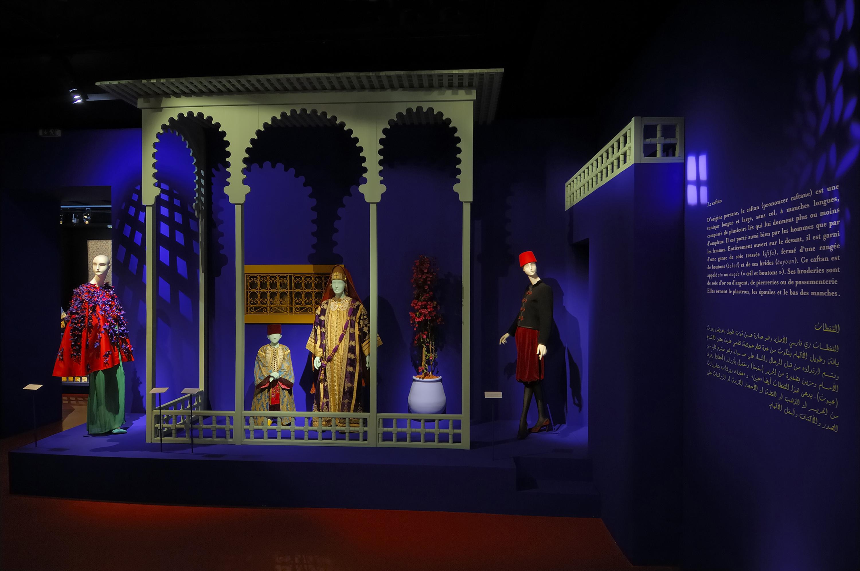 Une passion marocaine caftans broderies bijoux mus e yves saint laurent paris - Musee yves saint laurent paris ...