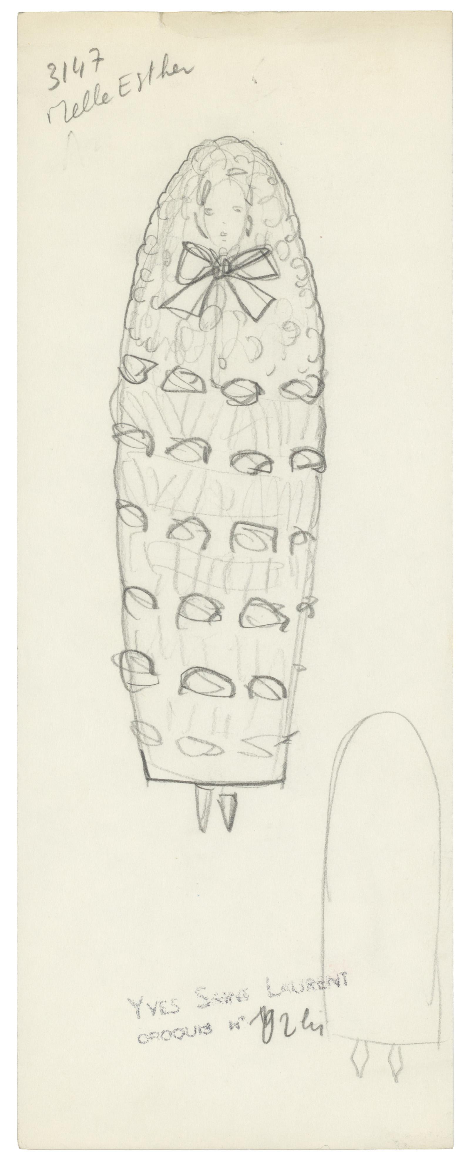 The Knit Bridal Gown - Musée Yves Saint Laurent Paris