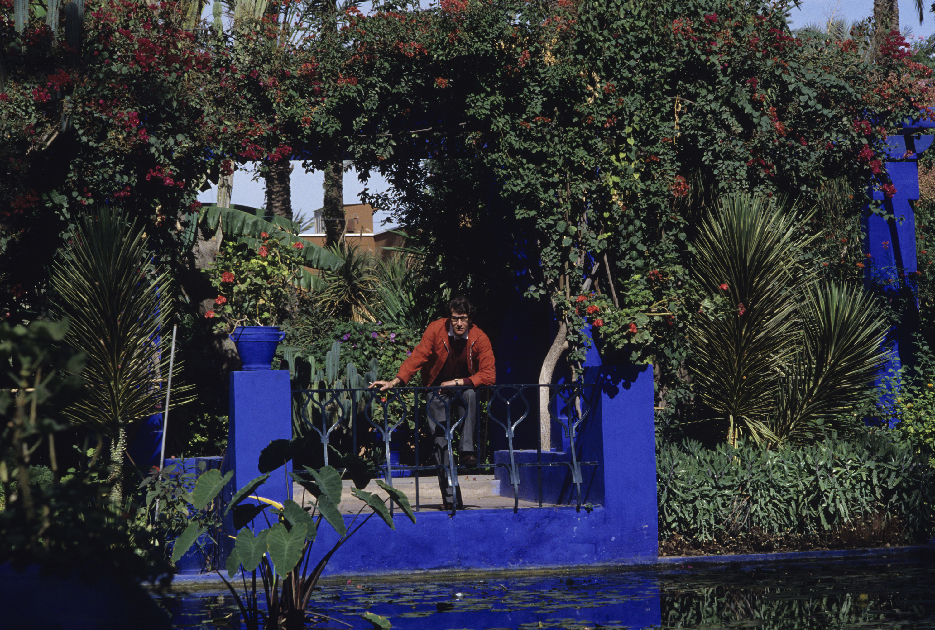 Acquisition of the villa oasis and the jardin majorelle for Jardin yves saint laurent