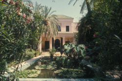 Villa Oasis, Marrakech., © Musée Yves Saint Laurent Paris / Guy Marineau