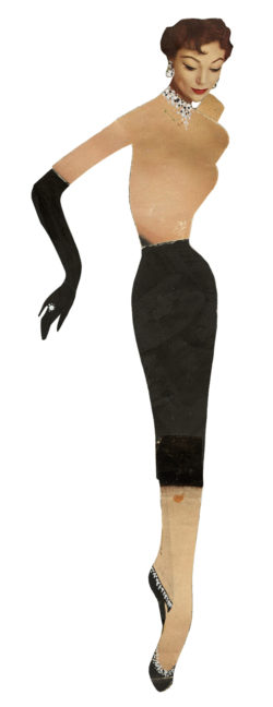 Paper doll Suzy, 1953., © Musée Yves Saint Laurent Paris
