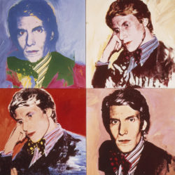 Portraits of Yves Saint Laurent by Andy Warhol (1928-1987), 1972., © ADAGP, Paris 2017