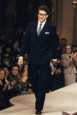 Yves Saint Laurent, Paris, January 1986., © Droits réservés