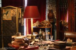 Interior of the Maison Jean Cocteau, Milly-la-Forêt. Photograph by Moïse Fournier., © Moïse Fournier