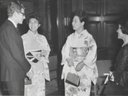 Reception in Korinkaku, Tokyo, April 9, 1963., © Droits réservés