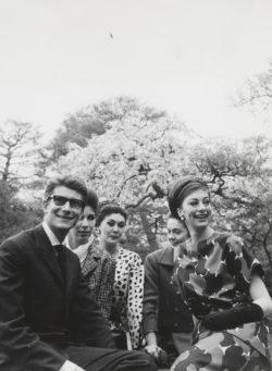 Visite d'Okazaki-Tsuruya, Kyoto, 15 avril 1963., © Droits réservés