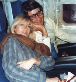 Betty Catroux and Yves Saint Laurent in the 1980s., © Droits Réservés