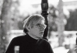 Andy Warhol, Marrakech, 1970s. Photograph by Pierre Bergé., © Pierre Bergé