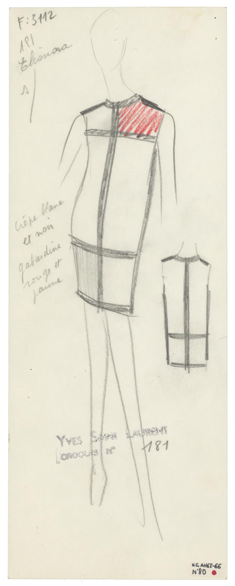 Homage To Piet Mondrian Mus 233 E Yves Saint Laurent Paris