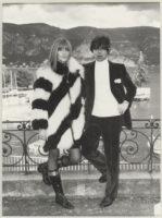 Photographie de Betty et François Catroux à l'occasion de leur mariage, Saint-Jean-Cap-Ferrat, 26 décembre 1967, © Droits réservés
