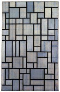Piet Mondrian, Composition avec grille 2, 1918/1942, © Christie's Images