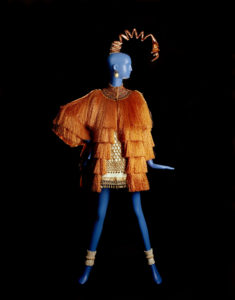 Yves Saint Laurent Ensemble du soir Collection haute couture printemps-été 1967, © Musée Yves Saint Laurent Paris / Alexandre Guirkinger