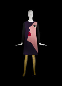 Yves Saint Laurent Robe hommage à Tom Wesselmann Collection haute couture automne-hiver 1966, © Musée Yves Saint Laurent Paris / Alexandre Guirkinger