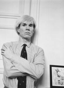 Andy Warhol, Paris, 1982, © André Ostier