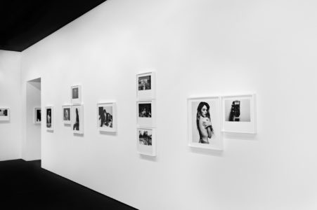 Hedi Slimane, Sonic exhibition display at the Fondation Pierre Bergé - Yves Saint Laurent, © Hedi Slimane