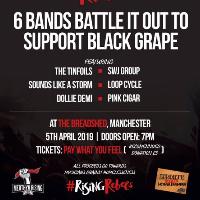 Rising Rebels gig support