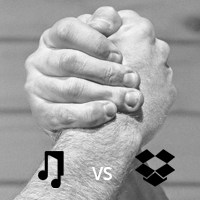 Dropbox VS Music Gateway – A Comparison on Behalf of Creative Artists