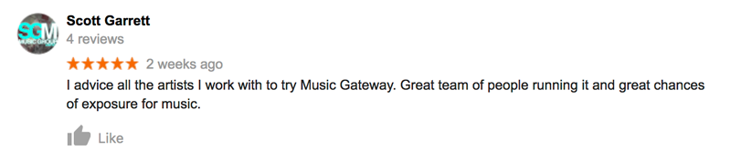 Music Gateway reviews