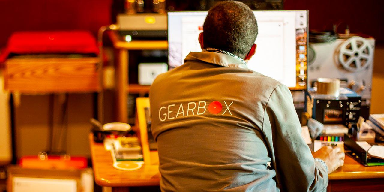 Photograph of Gearbox Records