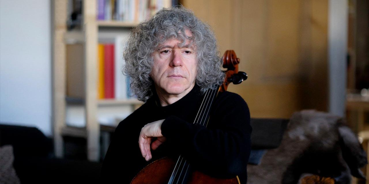 Photograph of Steven Isserlis