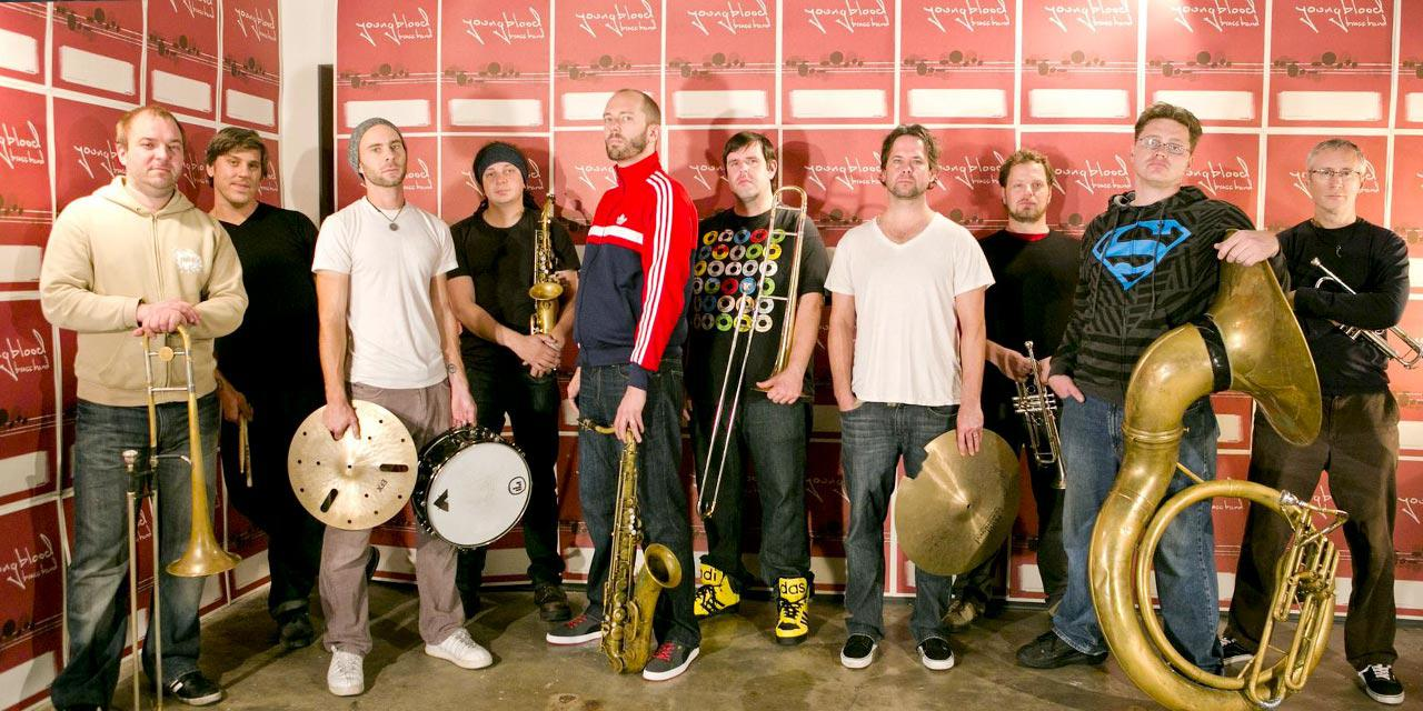 Photograph of Youngblood Brass Band