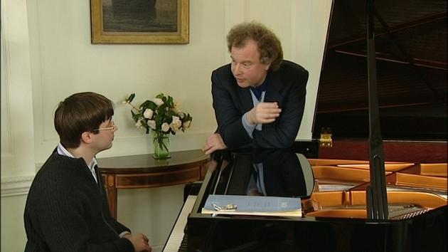 Bach - Partita No. 2 with András Schiff