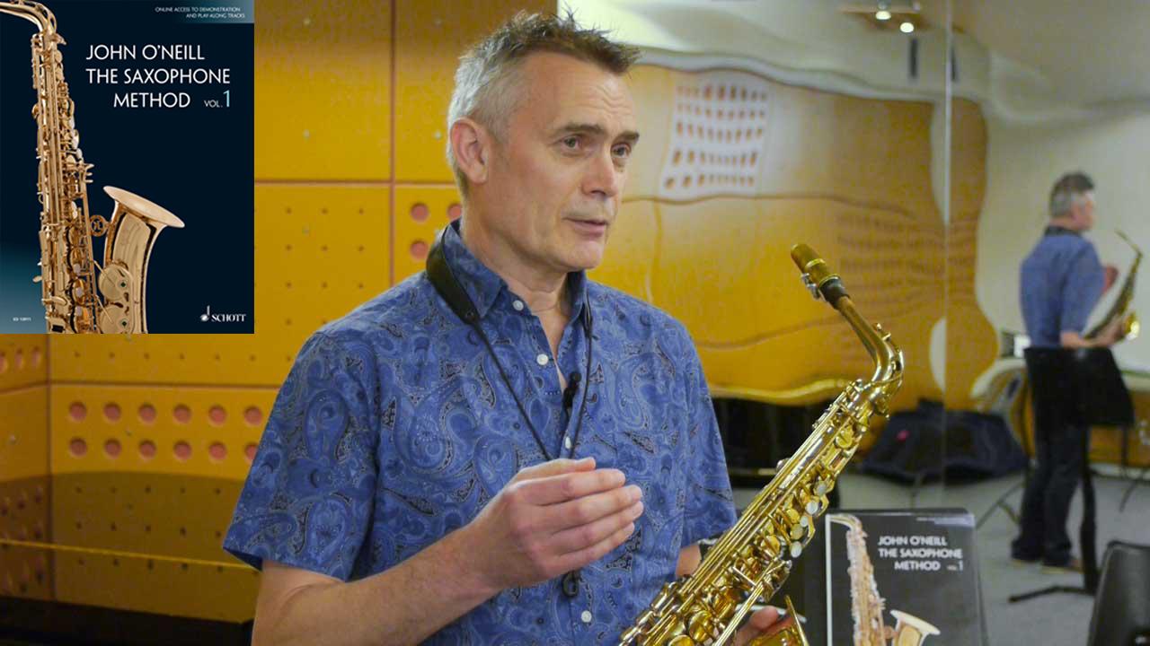 The Saxophone Method Vol. 1 with John O'Neill