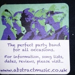 Abstract is a band of experienced musicians performing excellent songs ideal for weddings, parties and functions.... In fact any occasion!