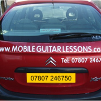 Mobile Guitar Lessons