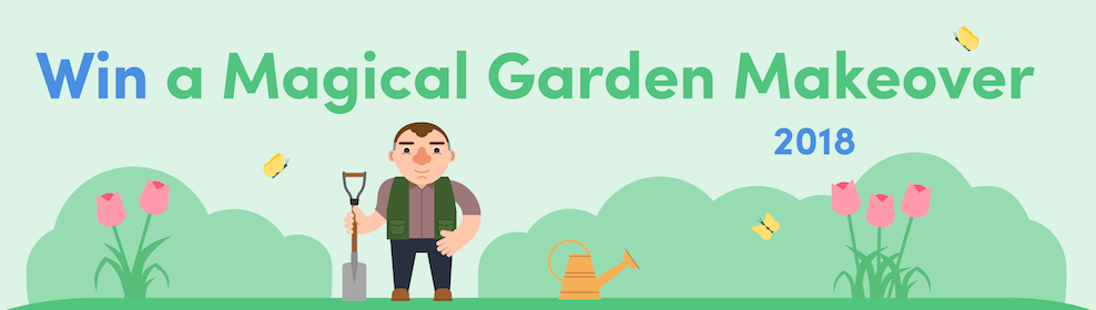 Magical Garden Makeover - COMPETITION CLOSED