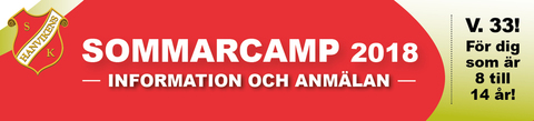 Md banner sommarcamp anmalan 2018