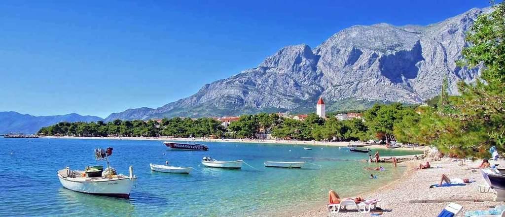 Promajna makarska riviera croatia beach apartments