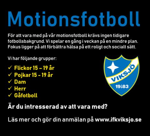 Md motionsfotboll annons
