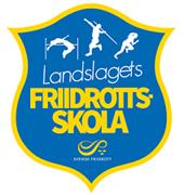 Md landslagets friidrottsskola logo