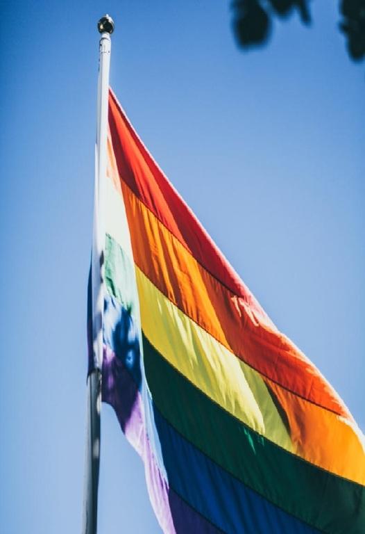 Regnb gsflagga