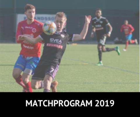 Md matchprogram 2019