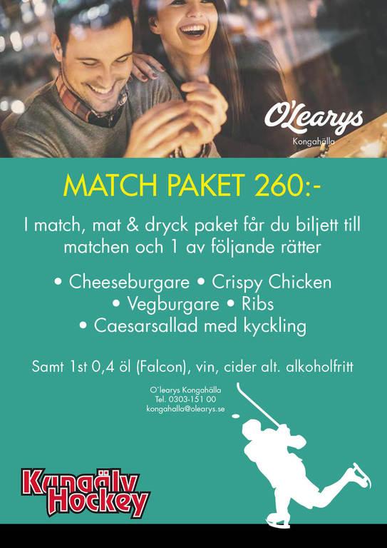 Olearys match khc