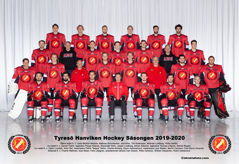 Md tyres  hanviken hockey med text