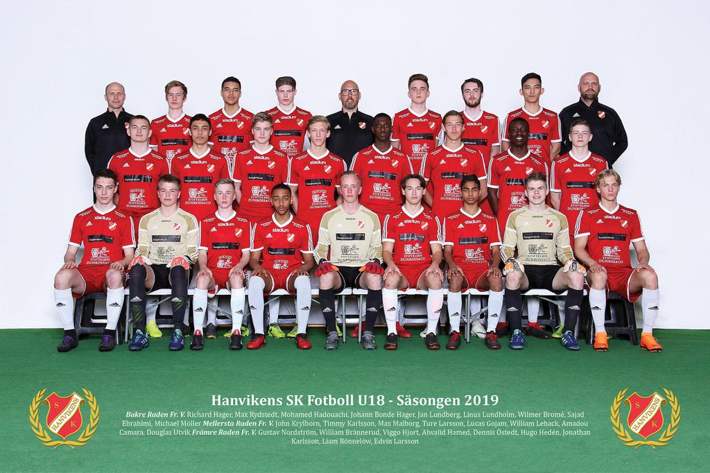 Hanvikens sk fotboll   u18