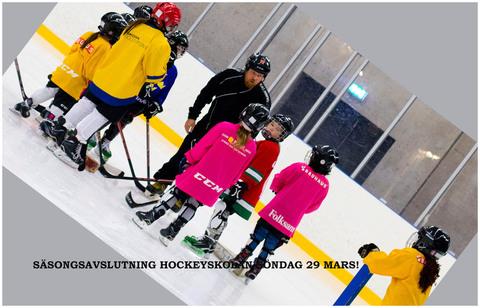 Md s songsavslutning hockeyskolan