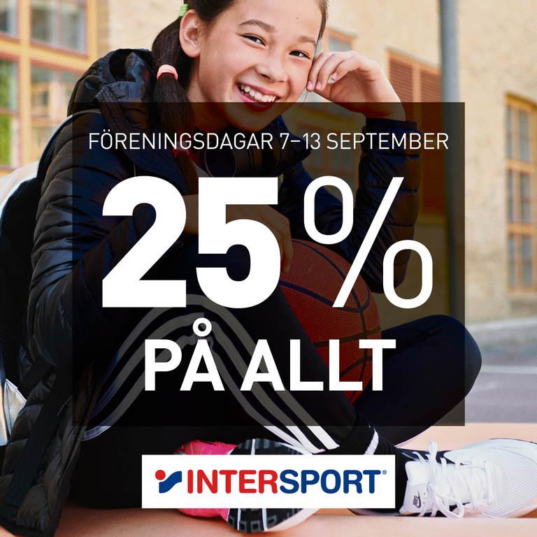 Some intersport foreningsdagar v37