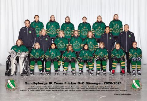 Md team flickor b c