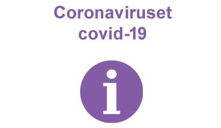 Coronavirus puff lila