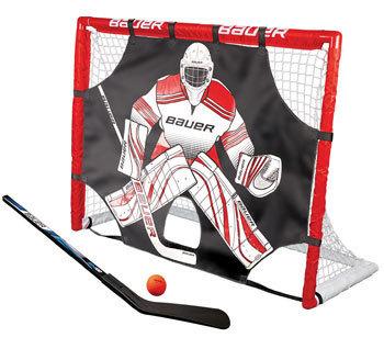 Md bauer street hockey goal set 48 inkl skytt stick boll b1046693