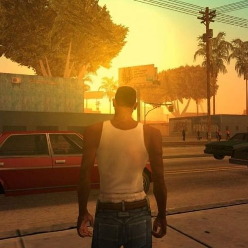 San Andreas morning