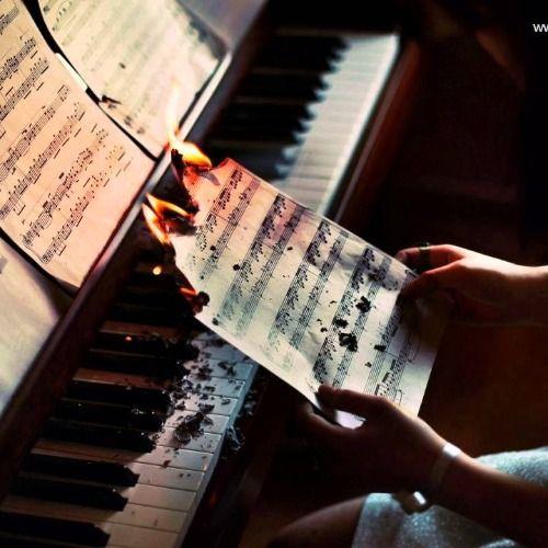 Emotional piano beat