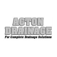 ACTON DRAINAGE profile picture