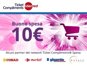 Ticket Compliments® Spesa 10€