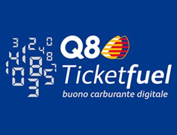 Q8 Ticketfuel 50€